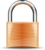 Padlock Orange Clip Art