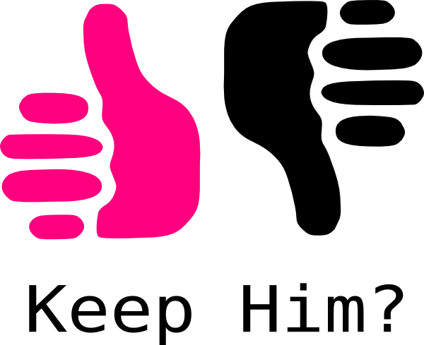 thumbs up thumbs down pink and black clip art at clker com vector rh clker com thumbs up thumbs down clipart free
