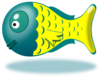 Cartoon Baby Fish Clip Art
