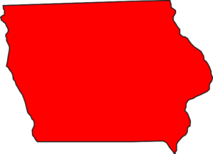Iowa Red Clip Art