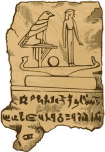 Egyption Tablet Clip Art