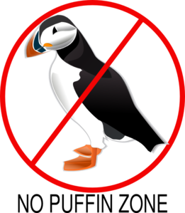 No Puffing Zone Clip Art