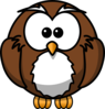 Just An Owl Clip Art