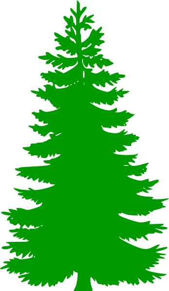 Pine Tree Clip Art At Clker Vector Clip Art Online Royalty