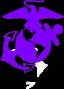 usmc violet clip art at clker com vector clip art online royalty rh clker com usmc clip art graphics usmc emblem clip art