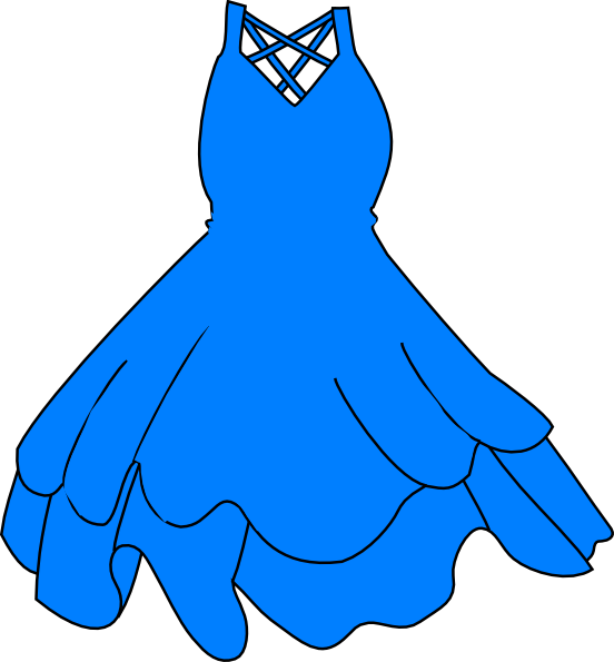 blue dress clip art at clker com vector clip art online royalty rh clker com dress clip art yellow dress clipart png
