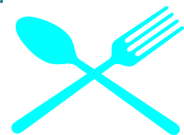 Fork And Spoon Cross Clip Art at Clker.com - vector clip ...