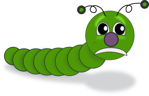 Caterpillar Clip Art at Clker.com - vector clip art online, royalty ...