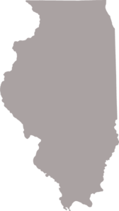 Gray Illinois Clip Art
