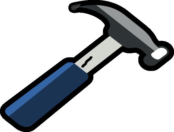 Hammer Outline Clip Art at Clker.com - vector clip art online, royalty ...