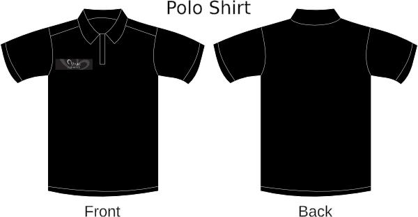 Me Black Polo Hi Contoh Kaos Polos Warna Hitam