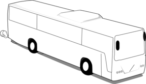 Final Large Bus Clip Art
