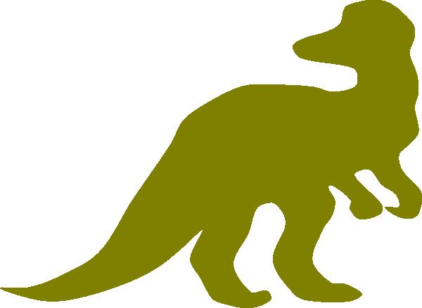 dinosaur clip art outline - photo #50