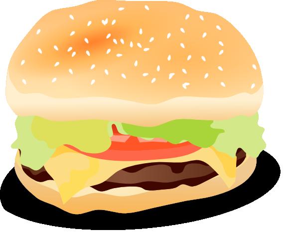 Hamburger clip art at vector clip art online for Hamburger clipart