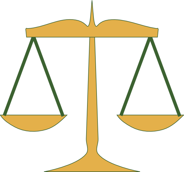 scales of justice clip art at clker com vector clip art online rh clker com scales of justice clipart lawyer scales of justice clipart