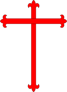 Red/black Cross Clip Art