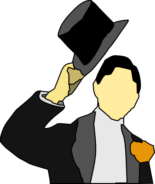 Greeting With Hat Clip Art at Clker.com - vector clip art online ...
