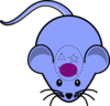 Mouse Purple Clip Art