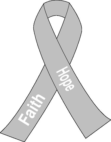 Lung Cancer Ribbon Clip Art At Clker Vector Clip Art Online