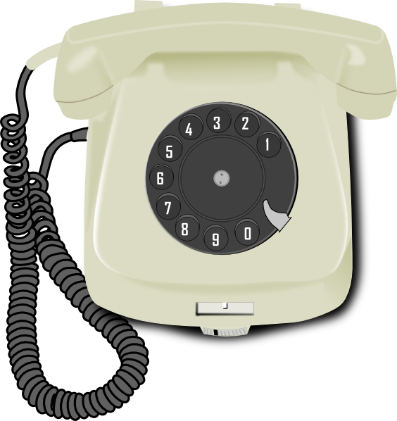 vintage telephone clipart - photo #24
