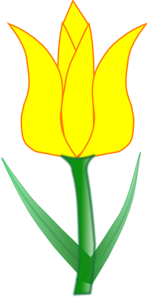 Tulip Clip Art at Clke...