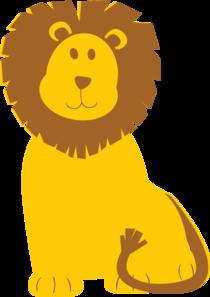 lion clip art at clker com vector clip art online royalty free rh clker com clip art of lioness clipart of lines