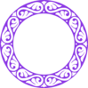 P Circle Purple Clip Art