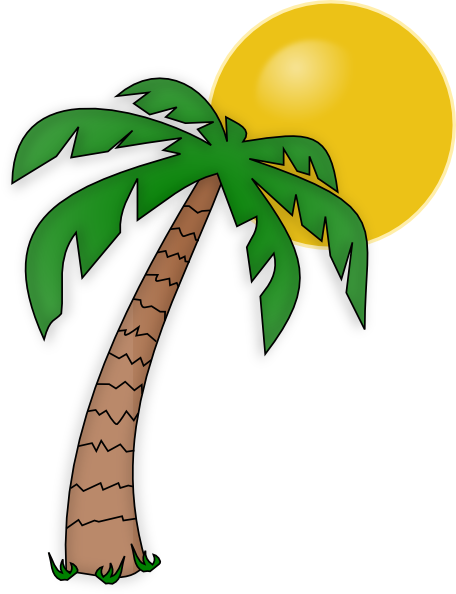 palm tree clip art clip art at clker com vector clip art online rh clker com free clip art palm trees on beach free weird palm tree clipart