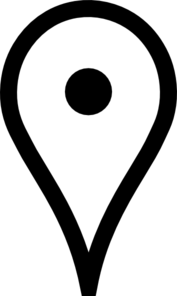 White Google Map Pin Clip Art