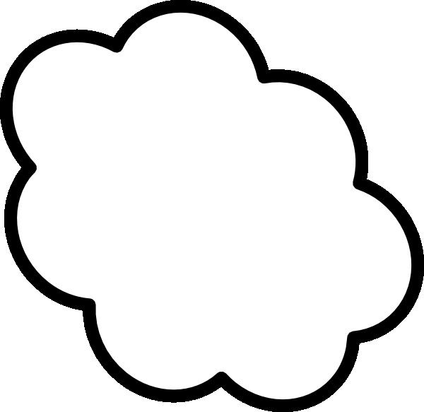 thought cloud clip art vector clip art online royalty