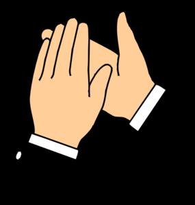 clapping hands transparent b g clip art at clker com vector clip rh clker com