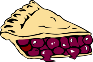 Cherry Pie Clip Art
