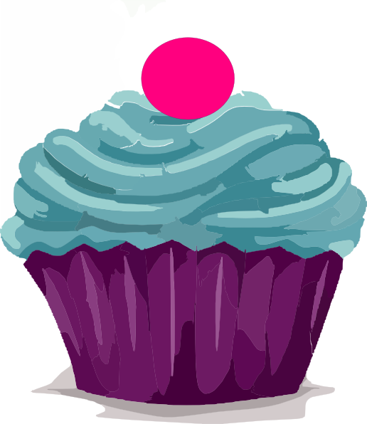Cupcake Design Png : Cupcake With Gumball Clip Art at Clker.com - vector clip ...