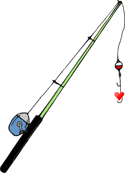 Fishing Pole Heart Clip Art at Clker.com - vector clip art ...