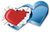 Heart Gift Box Clip Art