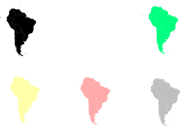 south america map clipart - photo #5