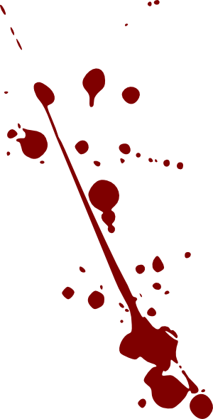 blood splatter clip art at clker com vector clip art online rh clker com