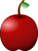 Red Apple  Clip Art