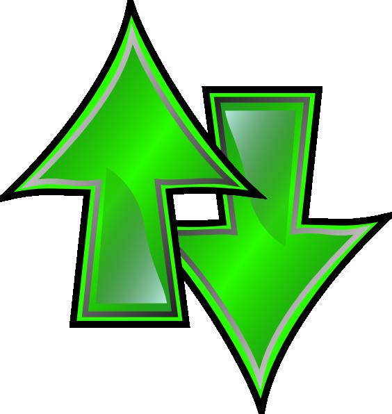 Up And Down Arrows Clip Art at Clker.com - vector clip art ...