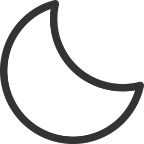 moon clip art at clker com vector clip art online royalty free rh clker com full moon clipart free crescent moon clipart free