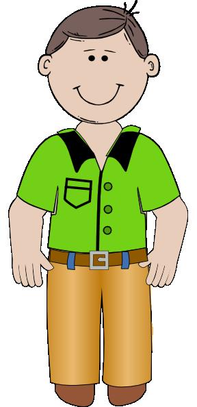 Cartoon Man Clip Art at Clker.com - vector clip art online ...