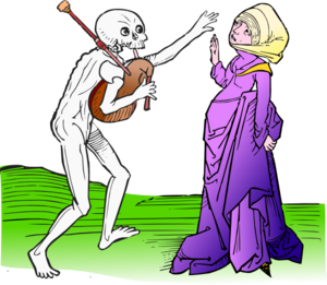 Death Dance Clip Art