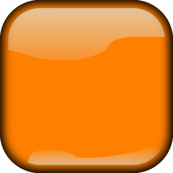 Dark Orange Locked Square Button Clip Art at Clker.com ...