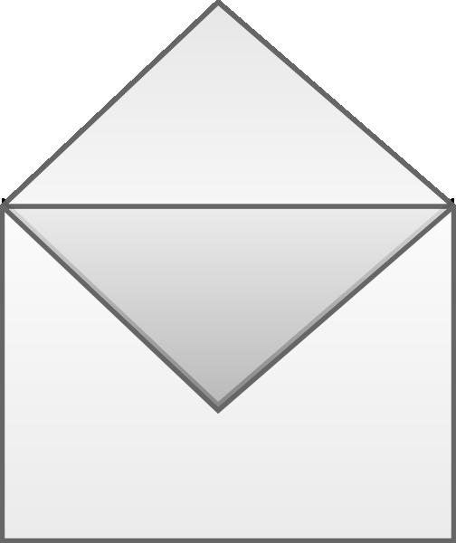 Open Envelope Clip Art at Clker.com - vector clip art