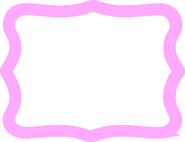 Thick Pink Frame Clip Art At Clker Com Vector Clip Art