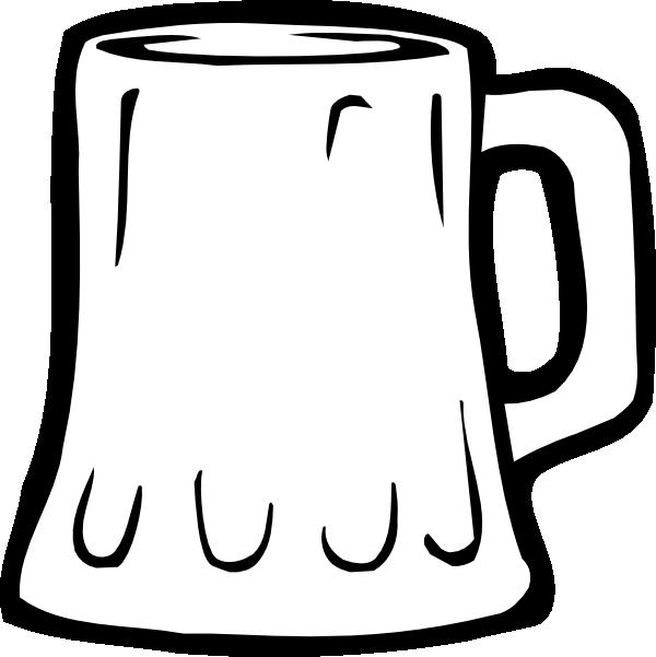 beer mug black and white clip art at clker com vector clip art rh clker com