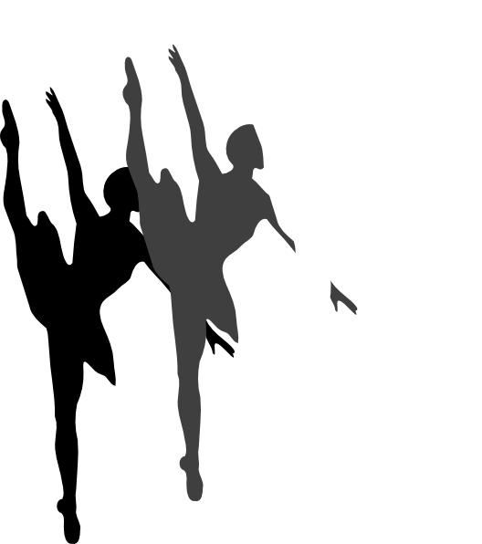 triple ballet dancer silhouette clip art at clker com vector clip rh clker com clipart pictures of ballet dancers clipart ballet dancers free