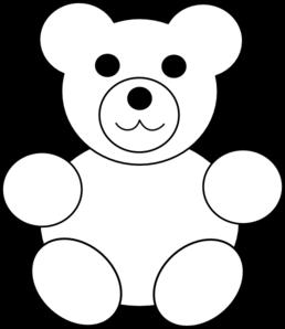 bear template clip art at clker com vector clip art online