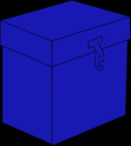 Blue Box Clip Art at Clker.com - vector clip art online, royalty ...
