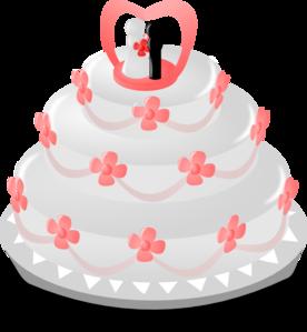 Wedding Cake Clip Art At Clker Com Vector Clip Art Online Royalty